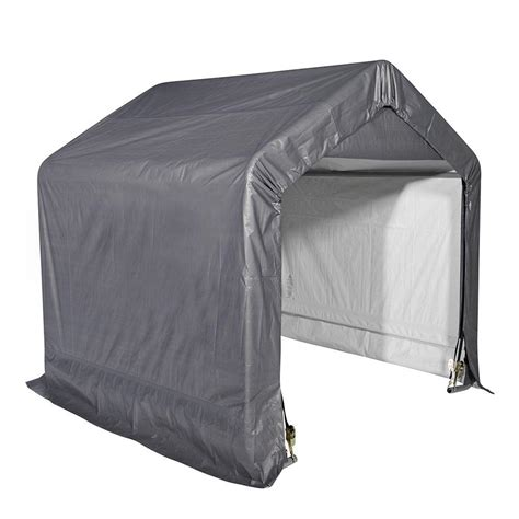 shelter logic shed shelterlogic shed in a box 6 ft x 6 ft x 6 ft grey peak