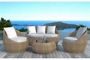 salon de jardin en resine tressee ronde beige salon de With transat de piscine design 1 quel transat choisir pour son jardin espace zen