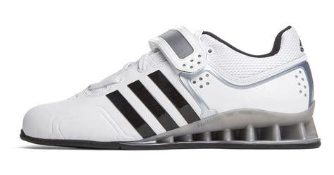 adidas adipower weightlifting shoes core whiteblacktech grey metallic rogue fitness