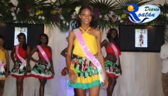 Tyra Gale Nueva Miss Bay Islands Heritage 2017