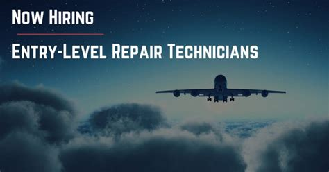 Entry Level Aircraft by Sts Is Hiring Entry Level Repair Technicians In San