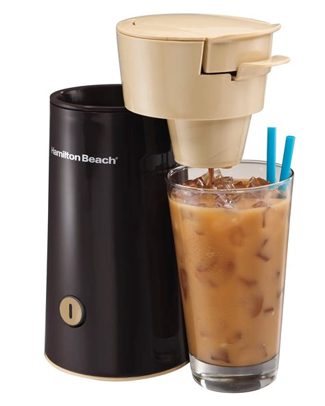 Simply add coffee grounds to the coffee maker and you're ready to go. Amazon.com: Hamilton Beach 40915 Iced Coffee Brewer, Black: Single Serve Brewing Machines ...