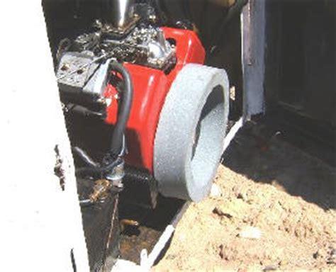 small engine repower bobcat skid steer