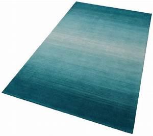 Teppich Braun Türkis : teppich wool comfort theko rechteckig h he 15 mm wolle online kaufen otto ~ Frokenaadalensverden.com Haus und Dekorationen