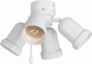 Light ceiling fan kit