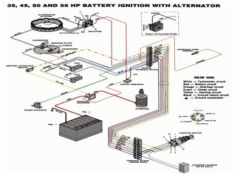 Mercury Marine Ignition Wiring Diagram by 50 Hp Mercury Outboard Wiring Diagram Wiring Forums