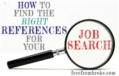 How Do You Choose A References For A Resume by Get The You Want How To Choose The Right References For Your Search