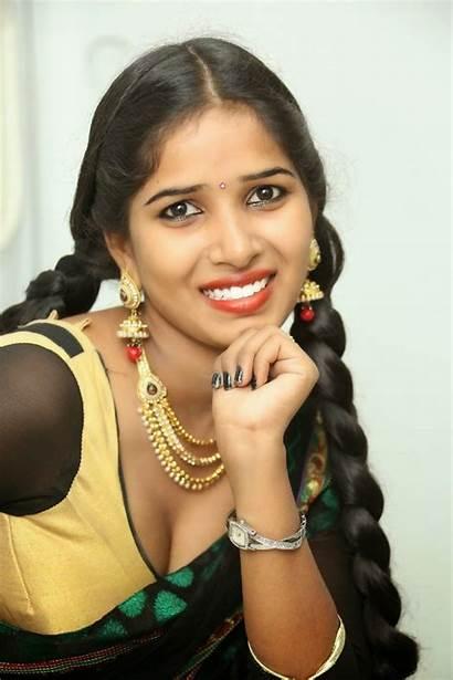 Myna Saree Actress Half Shoot Telugu Actor