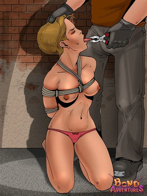 Bond Adventures Bondage Cartoons And Bdsm Comics