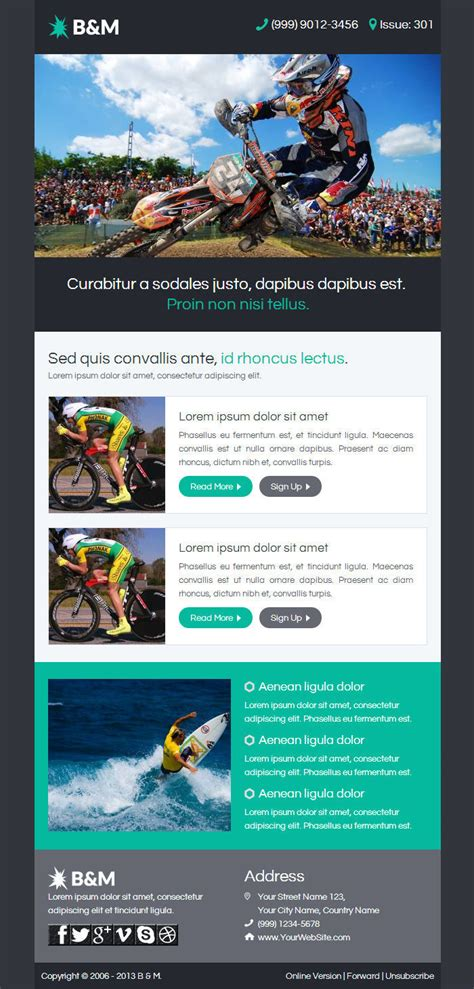 df10 template b m responsive email with template builder by digith