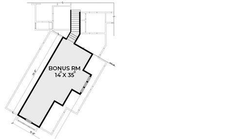plan jwd mountain craftsman house plan  bonus room  garage craftsman house