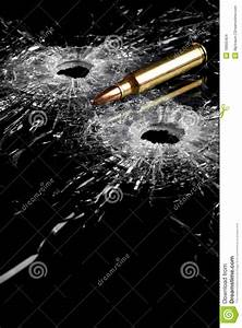 Bullet Holes In Glass Stock Images - Image: 18905404