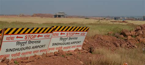 #sindhudurg #airport being #built at #chipi on