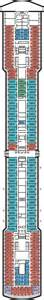 zuiderdam navigation deck deck plan zuiderdam deck 8