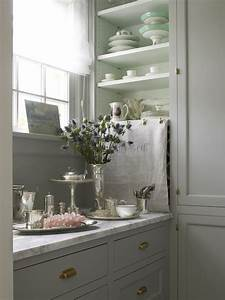 shabby chic pantry cottage kitchen john hummel With what kind of paint to use on kitchen cabinets for shabby chic kitchen wall art