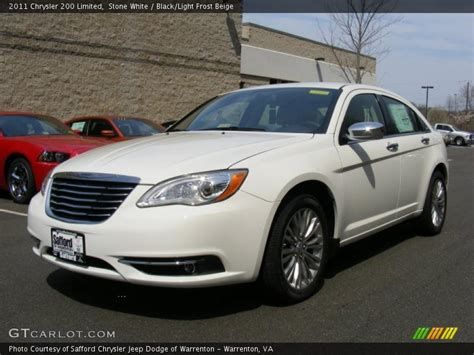 2011 Chrysler 200 Limited by 2011 Chrysler 200 Limited In White Photo No