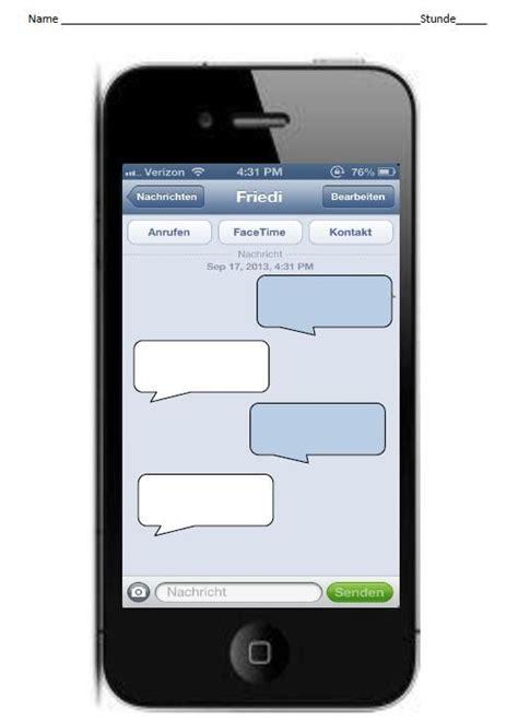 iphone chat iphone conversation german teach