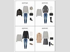The French Minimalist Capsule Wardrobe Winter 2018