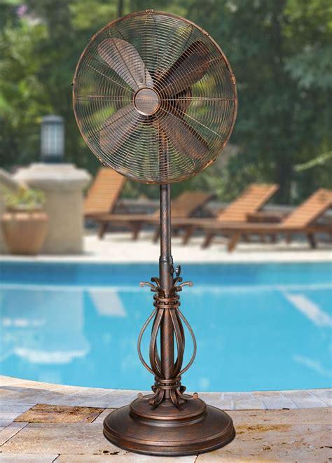dbf1080 prestigious outdoor patio fan floor standing