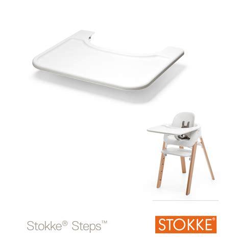 tablette pour chaise haute stokke tablette steps pour baby set de stokke chaises hautes