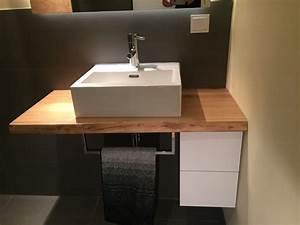 Waschtisch Mit Becken : waschtisch mit eichenholz kl becken ~ Markanthonyermac.com Haus und Dekorationen