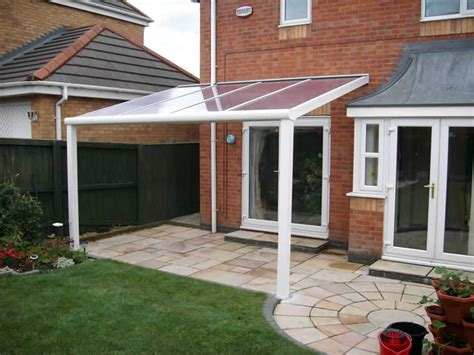 terrace covers polycarbonate glass verandas from samson awnings