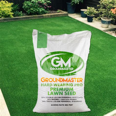 tough grass groundmaster hardwearing tough garden premium back lawn grass seed various sizes ebay