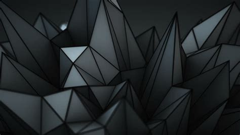 Abstract And Black Pattern Background by 3d Abstract Geometric Background With Sharp Spikes With