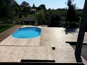 Piscine Sans Margelle : boisylva aquitaine multiservices construction bois ~ Premium-room.com Idées de Décoration
