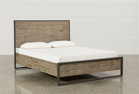 Eastern King Platform Bed by Whistler Eastern King Platform Bed Living Spaces