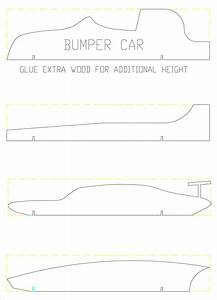 21 cool pinewood derby templates free sample example for Free pinewood derby car templates download