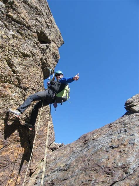 Scrambling Course Malaga Rock Climbing Instructor