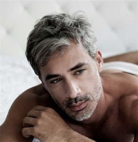 10 Best Men with Gray Hair   Mens Hairstyles 2017