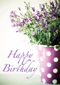 Happy Birthday Wishes Flowers