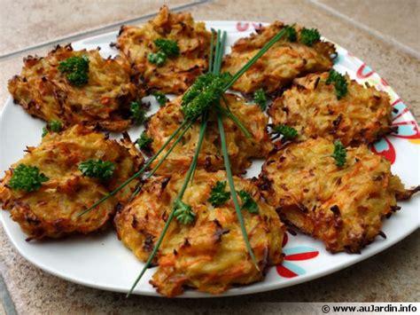 galettes de légumes recette de cuisine