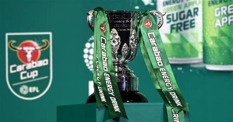 Carabao Cup quarter-final draw LIVE: Man Utd and Co learn ...