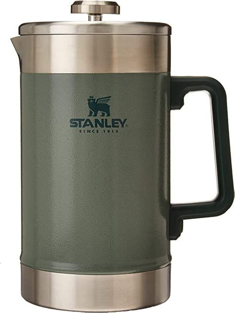 Could this be the best french press on amazon? Amazon.com: Stanley French Press 48oz with Double Vacuum Insulation, Stainless Steel Wide Mouth ...