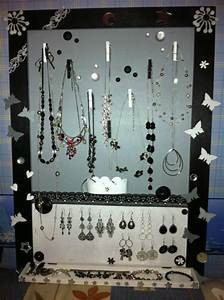 Fabriquer Un Porte Bijoux : porte bijoux scrapons ensemble ~ Melissatoandfro.com Idées de Décoration