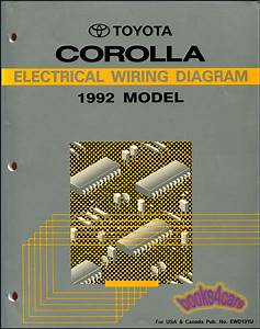 1989 Toyota Corolla Service Manual And Wiring Diagram