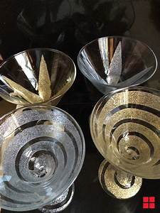 diy, glitter, martini, glasses