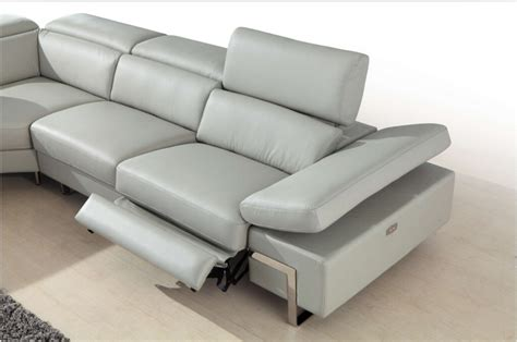 sofa with two recliners contemporary leather reclining sofa best 25 reclining sofa