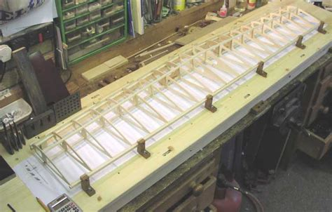 mikes wing building jig design