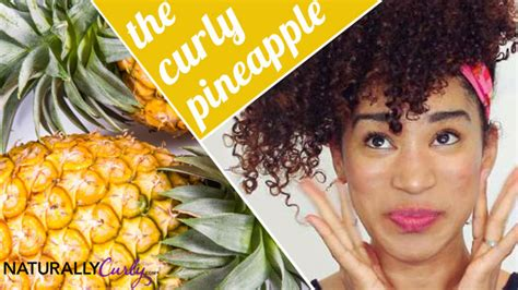 How To Pineapple For All Hair Lengths