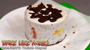 Mini Brownie Oreo Ice Cream Cake with M&Ms Recipe - YouTube