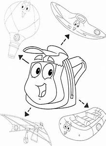 Rescue Pack Diego Coloring Pages | Color Me Happy ...