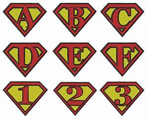 superman letter template pictures to pin on pinterest With superman alphabet template