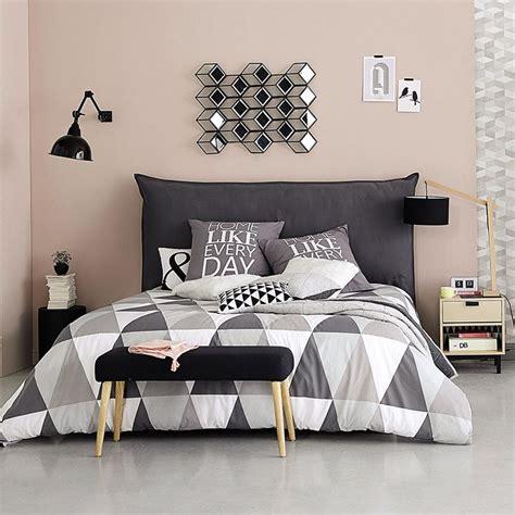 chambre adulte noir meubles déco d intérieur contemporain maisons du