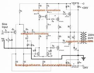 True Sine Wave Inverter Circuit Diagram
