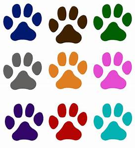 Paw Print Window Decal Pet Cat Dog - Choice and 50 similar