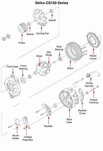 Delco Remy 3 Wire Alternator Wiring Diagram